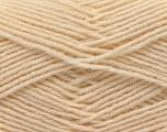 Fiber Content 55% Virgin Wool, 5% Cashmere, 40% Acrylic, Brand ICE, Cream, Yarn Thickness 2 Fine  Sport, Baby, fnt2-21112