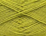 Fiber Content 55% Virgin Wool, 5% Cashmere, 40% Acrylic, Brand ICE, Green, Yarn Thickness 2 Fine  Sport, Baby, fnt2-21119