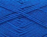 Fiber Content 55% Virgin Wool, 5% Cashmere, 40% Acrylic, Brand ICE, Blue, Yarn Thickness 2 Fine  Sport, Baby, fnt2-21121