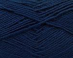 Fiber Content 55% Virgin Wool, 5% Cashmere, 40% Acrylic, Navy, Brand Ice Yarns, Yarn Thickness 2 Fine  Sport, Baby, fnt2-21123