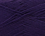 Fiber Content 55% Virgin Wool, 5% Cashmere, 40% Acrylic, Purple, Brand ICE, Yarn Thickness 2 Fine  Sport, Baby, fnt2-21128