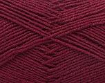 Fiber Content 55% Virgin Wool, 5% Cashmere, 40% Acrylic, Brand ICE, Burgundy, Yarn Thickness 2 Fine  Sport, Baby, fnt2-21130