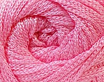 Width is 3 mm Fiber Content 100% Polyester, Yarn Thickness Other, Light Pink, Brand ICE, fnt2-21645