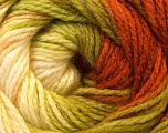 Fiber Content 100% Acrylic, Brand ICE, Green Shades, Copper, Yarn Thickness 3 Light  DK, Light, Worsted, fnt2-22029