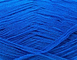 Very thin yarn. It is spinned as two threads. So you will knit as two threads. Yardage information is for only one strand. Fiber Content 100% Acrylic, Brand Ice Yarns, Blue, Yarn Thickness 1 SuperFine  Sock, Fingering, Baby, fnt2-22440
