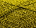 Very thin yarn. It is spinned as two threads. So you will knit as two threads. Yardage information is for only one strand. Fiber Content 100% Acrylic, Olive Green, Brand Ice Yarns, Yarn Thickness 1 SuperFine  Sock, Fingering, Baby, fnt2-22444