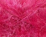 Fiber Content 100% Polyester, Brand Ice Yarns, Candy Pink, Yarn Thickness 5 Bulky  Chunky, Craft, Rug, fnt2-22722