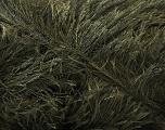 Fiber Content 100% Polyester, Brand Ice Yarns, Dark Khaki, Yarn Thickness 5 Bulky  Chunky, Craft, Rug, fnt2-22742