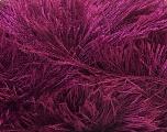 Fiber Content 100% Polyester, Brand Ice Yarns, Burgundy, Yarn Thickness 5 Bulky  Chunky, Craft, Rug, fnt2-22792