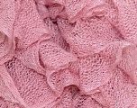 A fresh scarf  yarn wiith cotton content. Shiny and fresh! Fiber Content 70% Cotton, 30% Nylon, Light Pink, Brand Ice Yarns, Yarn Thickness 6 SuperBulky  Bulky, Roving, fnt2-23315