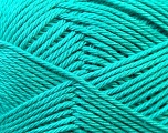 Fiber Content 100% Mercerised Cotton, Sea Green, Brand Ice Yarns, Yarn Thickness 2 Fine  Sport, Baby, fnt2-23332