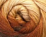 Fiber Content 60% Acrylic, 40% Merino Wool, Brand Ice Yarns, Brown Shades, Yarn Thickness 2 Fine  Sport, Baby, fnt2-23429