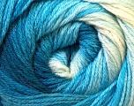 Fiber Content 60% Acrylic, 40% Merino Wool, Brand ICE, Blue Shades, Yarn Thickness 2 Fine  Sport, Baby, fnt2-23430