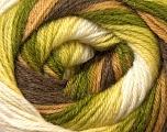 Fiber Content 60% Acrylic, 40% Merino Wool, Brand ICE, Green Shades, Brown Shades, Yarn Thickness 2 Fine  Sport, Baby, fnt2-23432