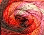 Fiber Content 60% Acrylic, 40% Merino Wool, White, Red, Pink, Brand ICE, Brown, Yarn Thickness 2 Fine  Sport, Baby, fnt2-23433