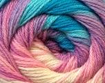 Fiber Content 60% Acrylic, 40% Merino Wool, White, Pink, Brand Ice Yarns, Blue, Yarn Thickness 2 Fine  Sport, Baby, fnt2-23435