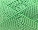Fiber Content 100% Acrylic, Mint Green, Brand Ice Yarns, Yarn Thickness 2 Fine  Sport, Baby, fnt2-23585