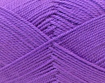 Fiber Content 100% Acrylic, Lavender, Brand Ice Yarns, Yarn Thickness 2 Fine  Sport, Baby, fnt2-23595