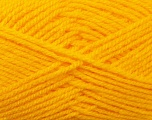 Worsted  Fiber Content 100% Acrylic, Yellow, Brand Ice Yarns, Yarn Thickness 4 Medium  Worsted, Afghan, Aran, fnt2-23726