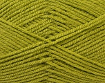 Worsted  Fiber Content 100% Acrylic, Light Green, Brand Ice Yarns, Yarn Thickness 4 Medium  Worsted, Afghan, Aran, fnt2-23737