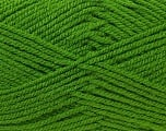 Worsted  Fiber Content 100% Acrylic, Brand Ice Yarns, Green, Yarn Thickness 4 Medium  Worsted, Afghan, Aran, fnt2-23738
