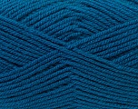 Worsted  Fiber Content 100% Acrylic, Teal, Brand Ice Yarns, Yarn Thickness 4 Medium  Worsted, Afghan, Aran, fnt2-23741
