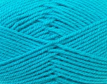 Bulky  Fiber Content 100% Acrylic, Turquoise, Brand ICE, Yarn Thickness 5 Bulky  Chunky, Craft, Rug, fnt2-23762