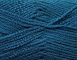 Worsted  Fiber Content 100% Acrylic, Brand Ice Yarns, Blue, Yarn Thickness 4 Medium  Worsted, Afghan, Aran, fnt2-24504