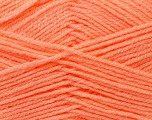 Fiber Content 100% Baby Acrylic, Light Orange, Brand ICE, Yarn Thickness 2 Fine  Sport, Baby, fnt2-24527