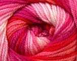 Fiber Content 100% Premium Acrylic, White, Red, Pink, Brand Ice Yarns, Fuchsia, Yarn Thickness 3 Light  DK, Light, Worsted, fnt2-24564