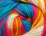Fiber Content 100% Premium Acrylic, Yellow, White, Pink, Orange, Brand ICE, Green, Blue, Yarn Thickness 3 Light  DK, Light, Worsted, fnt2-24567