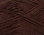 Fiber Content 100% Acrylic, Brand Ice Yarns, Brown, Yarn Thickness 1 SuperFine  Sock, Fingering, Baby, fnt2-24591