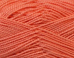 Fiber Content 100% Acrylic, Salmon, Brand Ice Yarns, Yarn Thickness 1 SuperFine  Sock, Fingering, Baby, fnt2-24592