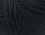 Fiber Content 40% Acrylic, 35% Wool, 25% Alpaca, Brand Ice Yarns, Black, Yarn Thickness 5 Bulky  Chunky, Craft, Rug, fnt2-25392