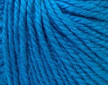 Fiber Content 40% Acrylic, 35% Wool, 25% Alpaca, Turquoise, Brand Ice Yarns, Yarn Thickness 5 Bulky  Chunky, Craft, Rug, fnt2-25398