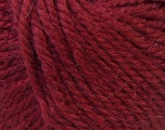 Fiber Content 40% Acrylic, 35% Wool, 25% Alpaca, Brand Ice Yarns, Burgundy, Yarn Thickness 5 Bulky  Chunky, Craft, Rug, fnt2-25413