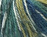 Fiber Content 40% Acrylic, 35% Wool, 25% Alpaca, Navy, Khaki, Brand Ice Yarns, Green, Blue, Yarn Thickness 5 Bulky  Chunky, Craft, Rug, fnt2-25419