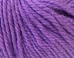Fiber Content 40% Acrylic, 35% Wool, 25% Alpaca, Purple, Brand Ice Yarns, Yarn Thickness 5 Bulky  Chunky, Craft, Rug, fnt2-25450