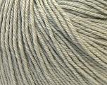 Fiber Content 40% Acrylic, 40% Merino Wool, 20% Polyamide, Light Grey, Brand ICE, Yarn Thickness 2 Fine  Sport, Baby, fnt2-26115