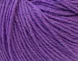 Fiber Content 40% Merino Wool, 40% Acrylic, 20% Polyamide, Purple, Brand ICE, Yarn Thickness 2 Fine  Sport, Baby, fnt2-26118
