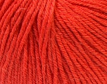 Fiber Content 40% Merino Wool, 40% Acrylic, 20% Polyamide, Orange, Brand ICE, Yarn Thickness 2 Fine  Sport, Baby, fnt2-26128