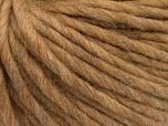 Fiber Content 100% Australian Wool, Light Camel, Brand Ice Yarns, Yarn Thickness 6 SuperBulky  Bulky, Roving, fnt2-26153