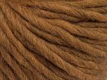 Fiber Content 100% Australian Wool, Brand ICE, Brown, Yarn Thickness 6 SuperBulky  Bulky, Roving, fnt2-26155