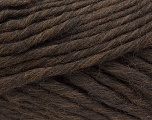 Fiber Content 100% Australian Wool, Brand ICE, Dark Brown, Yarn Thickness 6 SuperBulky  Bulky, Roving, fnt2-26156