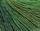 Fiber Content 50% Wool, 50% Acrylic, Brand Ice Yarns, Green Shades, Yarn Thickness 3 Light  DK, Light, Worsted, fnt2-27154