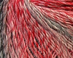 Fiber Content 50% Wool, 50% Acrylic, Red, Pink, Brand Ice Yarns, Grey, Yarn Thickness 3 Light  DK, Light, Worsted, fnt2-27156