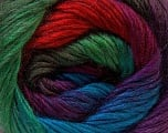 Fiber Content 40% Wool, 30% Mohair, 30% Acrylic, Red, Purple, Brand ICE, Green Shades, Blue, Yarn Thickness 3 Light  DK, Light, Worsted, fnt2-27210