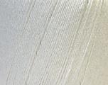 Fiber Content 50% Linen, 50% Viscose, White, Brand Ice Yarns, Yarn Thickness 2 Fine  Sport, Baby, fnt2-27248