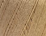 Fiber Content 50% Linen, 50% Viscose, Brand Ice Yarns, Dark Cream, Yarn Thickness 2 Fine  Sport, Baby, fnt2-27250