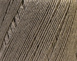 Fiber Content 50% Viscose, 50% Linen, Brand Ice Yarns, Beige, Yarn Thickness 2 Fine  Sport, Baby, fnt2-27251